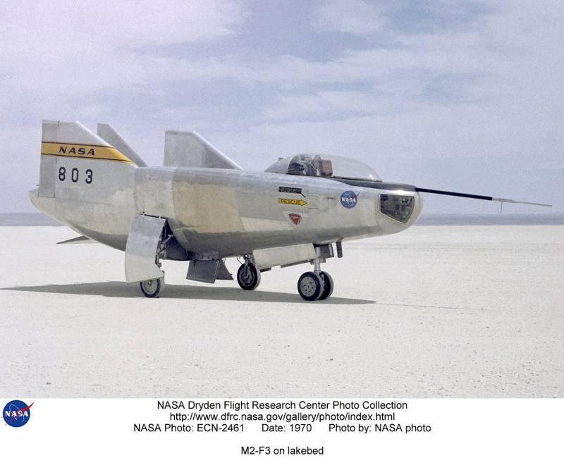 Экспериментальный летательный аппарат Northrop M2-F2(3): «летающая ванна»