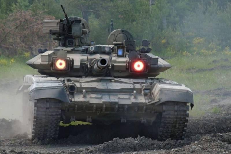 Сирийский офицер о Т-90 (видео)