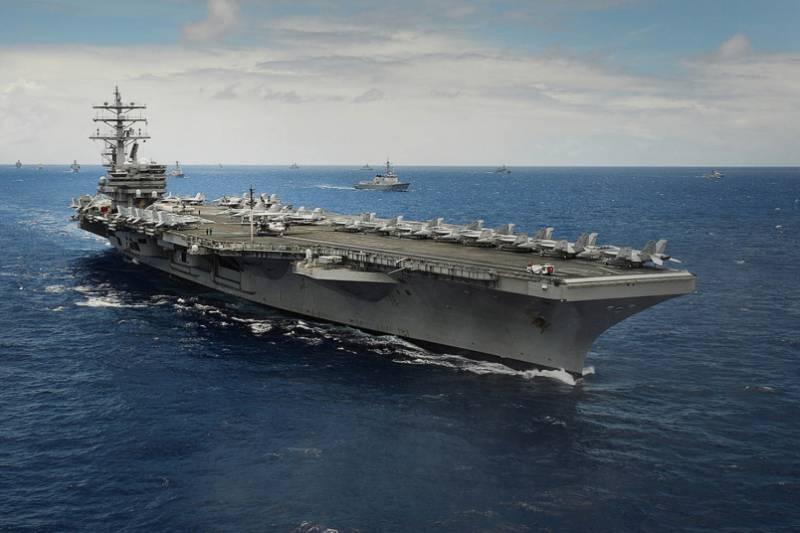 Вашингтон не скрывает антикитайскую направленность военно-морских учений у берегов Филиппин