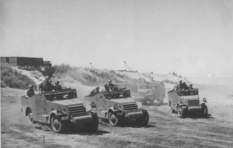 M3 Scout Car: разведывательный бронетранспортёр