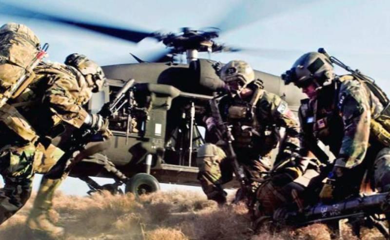 Пентагон поддержал Эмираты спецназом и вертолётами