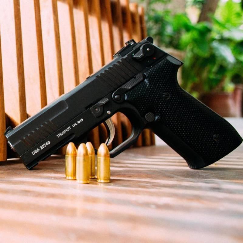 Пакистанский 9-мм пистолет DSA Trushot