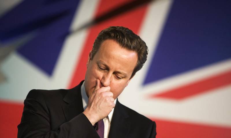 Дэвид Кэмерон объявил о своей отставке