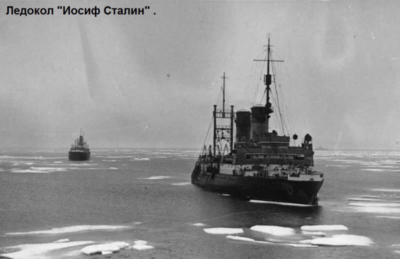 Строительство первых советских арктических ледоколов