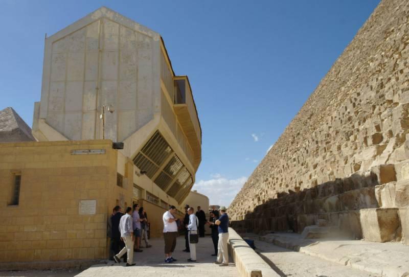 Кедровая ладья Хеопса: путешествие длиной в 5 000 лет