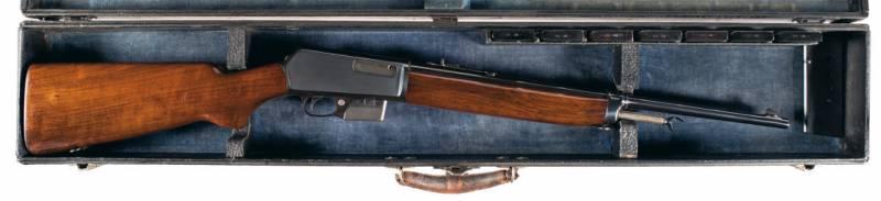 Самозарядная винтовка Winchester Model 1907 (США)