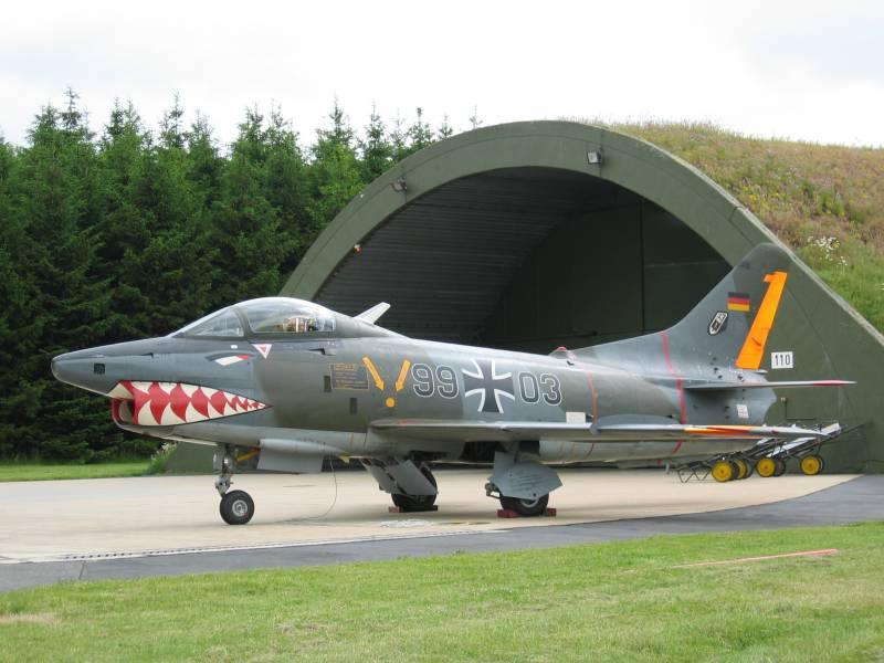 Истребитель-бомбардировщик Aeritalia FIAT G.91