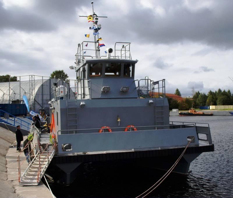 До 2018 г в ВМФ поступят 3 спасательных катера проекта 23370М