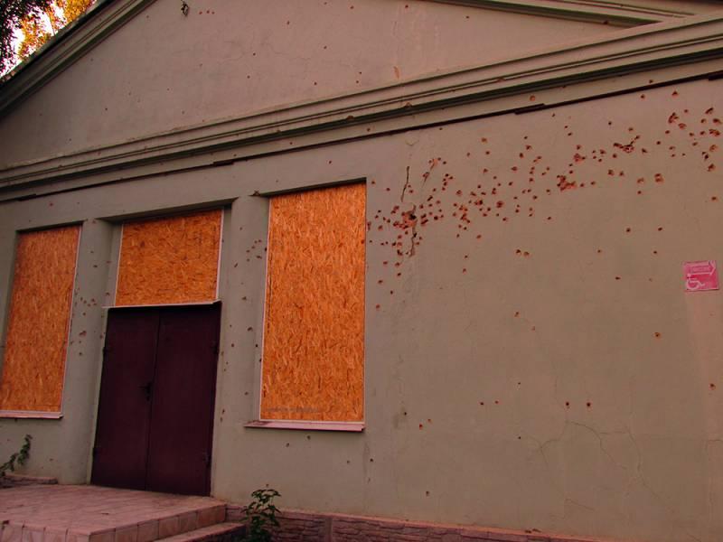 ДНР: укрохунта продолжает обстрелы, а в Макеевке состоялись учения МЧС
