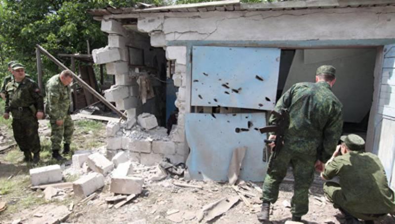 ЛНР: территория республики была обстреляна за сутки 17 раз