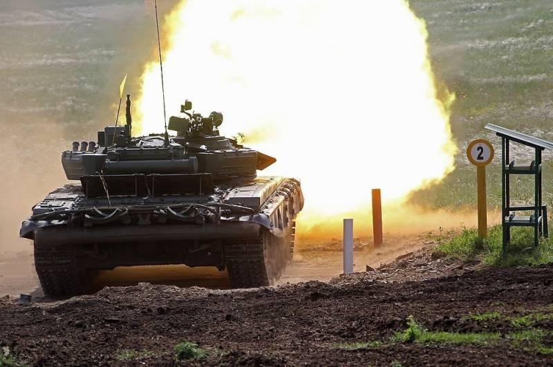 Возможности Т-72Б3 проверили в бою с условным противником