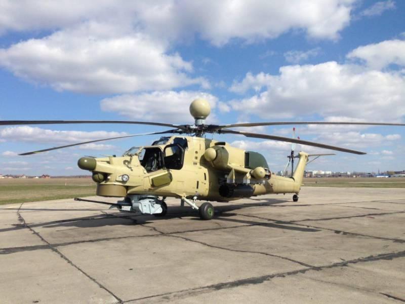 Очередная партия Ми-28НЭ доставлена в Алжир