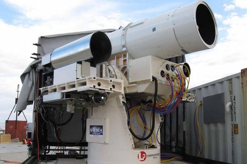 Американцы испытают «мощнейший боевой лазер»