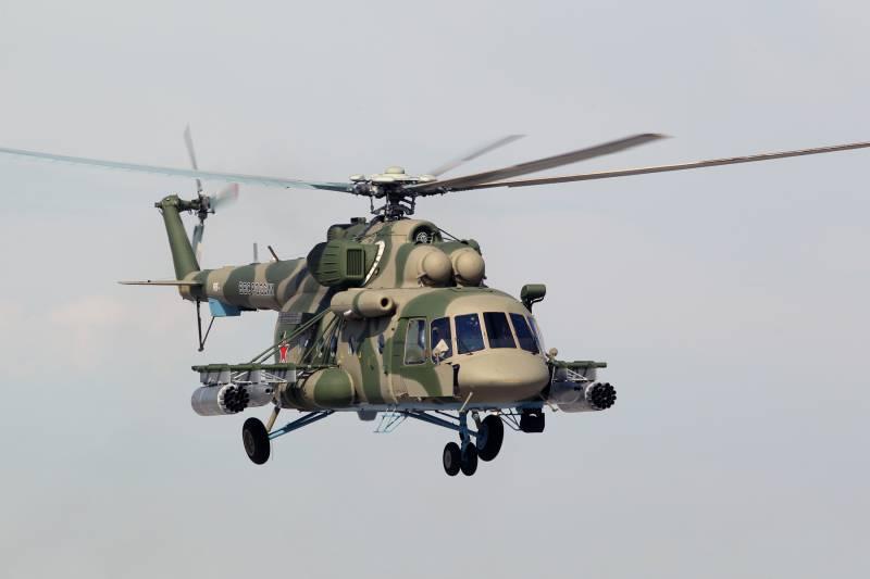 Первая в 2016 г партия Ми-8АМТШ передана российским военным раньше срока
