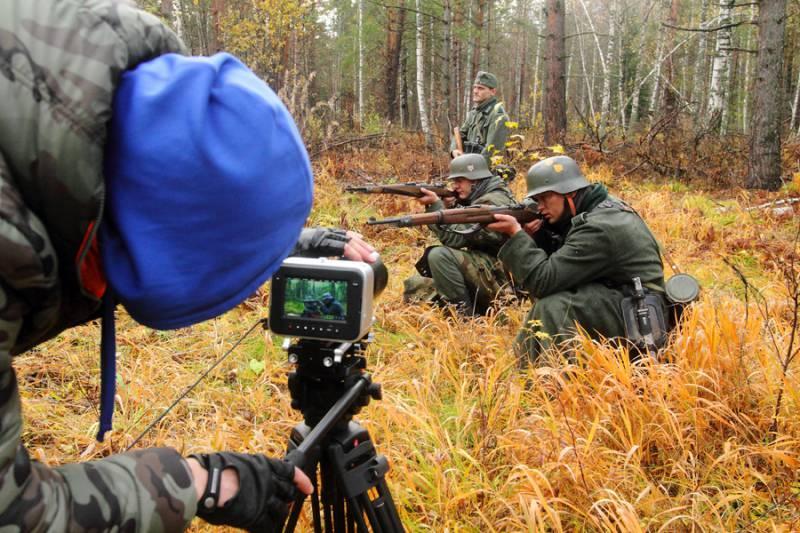 Томичи снимают полнометражный фильм о 166-й стрелковой дивизии