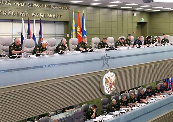 Сергей Шойгу в ходе селекторного совещания рассказал о ходе возведения и реконструкции объектов военной инфраструктуры