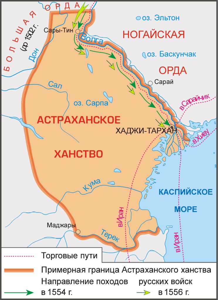कैसे इवान भयानक Astrakhan Khanate परिसमापन किया