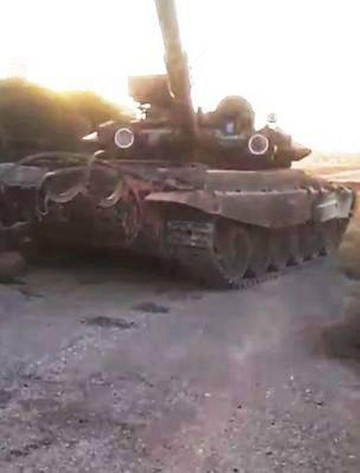 СМИ: игиловцы продали захваченный в Сирии Т-90 за полмиллиона долларов