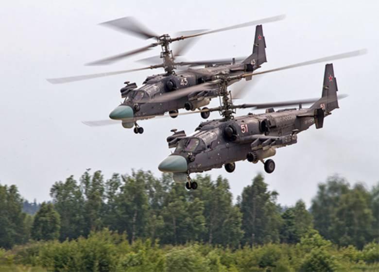 До 2020 г Минобороны получит 146 вертолётов Ка-52
