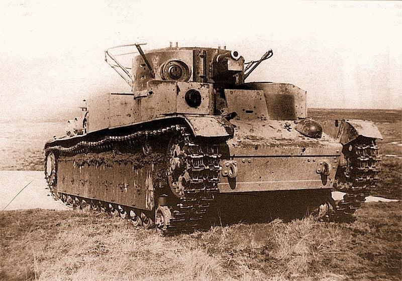 3 июля 1941 года. Минск. Один танк Т-28 против фашистов