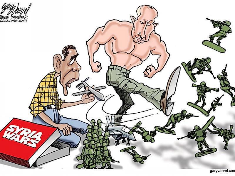 Обама снова уступает Путину в Сирии (The Washington Post, США)