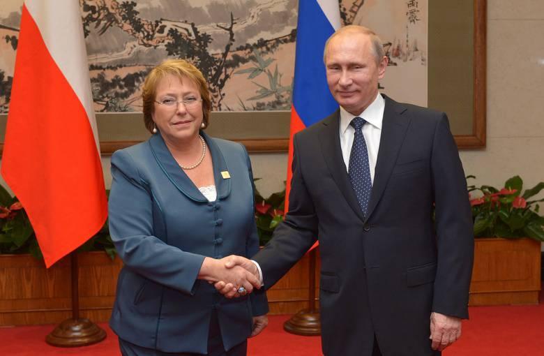 Чили и Россия: прощай, дядюшка Сэм, добро пожаловать, товарищ (Telesur TV, Венесуэла)