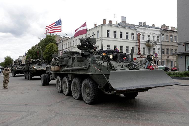 НАТО приближается к России (Parlamentní listy, Чехия)