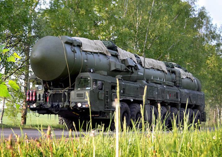 Мобильные комплексы РВСН приступили к боевому патрулированию в рамках плановых учений