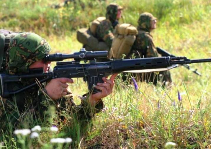 В горах Армении начались тренировки снайперов российской военной базы