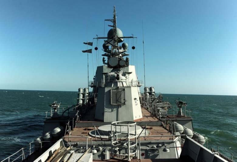 कैस्पियन फ्लोटिला के जहाजों को सामरिक सिद्धांत के समुद्र में ले जाया गया