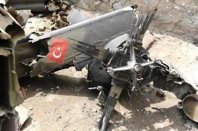 Количество погибших в результате крушения турецкого вертолёта увеличилось до семи