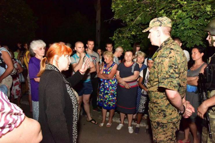 Начальник управления украинской полиции о бунте против ВСУ в Торецке