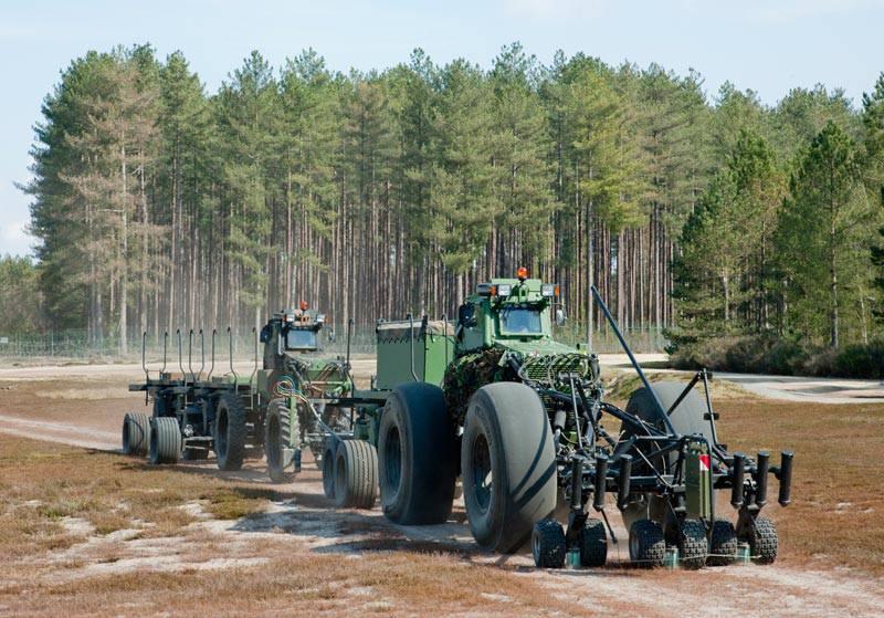 Давление любой ценой: методы повышения защищенности колес военной автомобильной техники