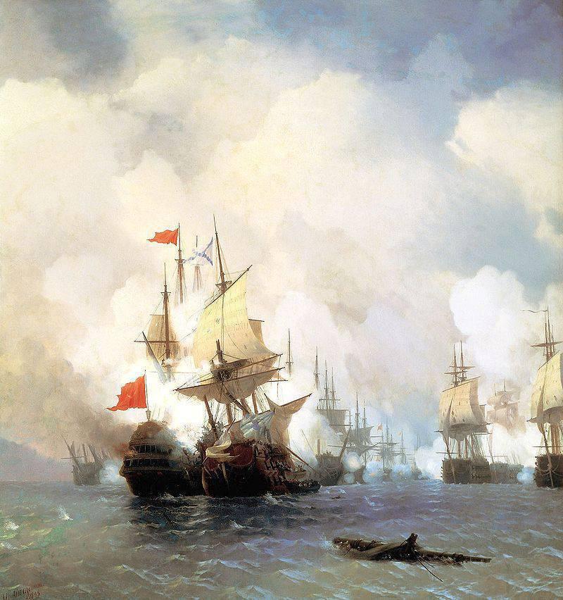 День воинской славы России. Уничтожение турецкого флота в Чесменской битве