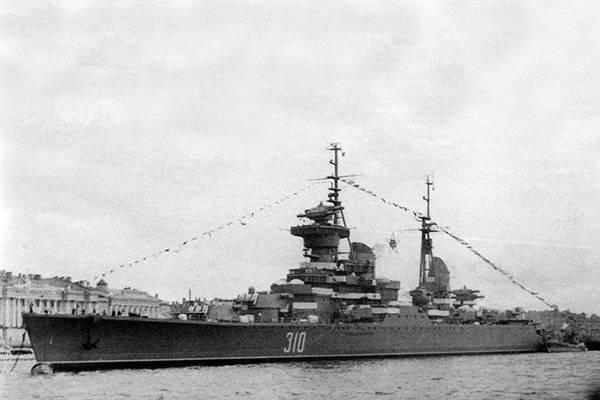 Артиллерийские крейсеры типа «Свердлов»: последние в русском флоте