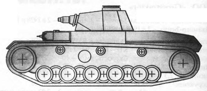 Тяжелый танк Henschel VK 6501(H), Германия