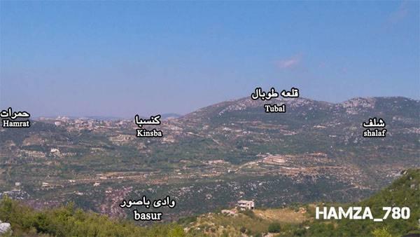 Сирийская армия начала наступление на севере Латакии