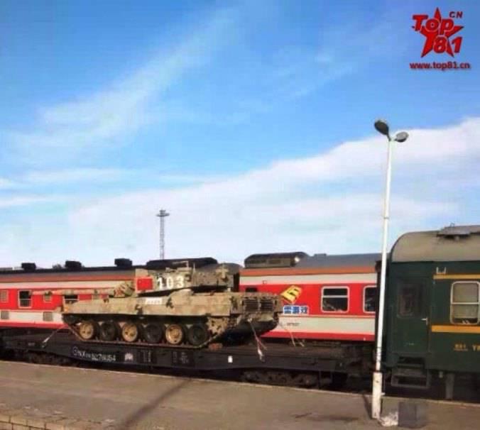 Китайцы обновили свой танк Тип-96