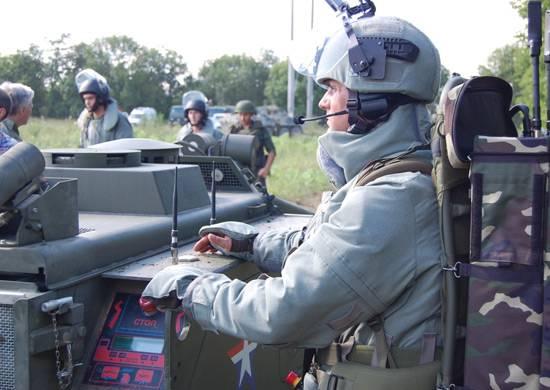 A Murom sono rappresentate attrezzature militari, attrezzature e un percorso a ostacoli speciale per le truppe di ingegneria