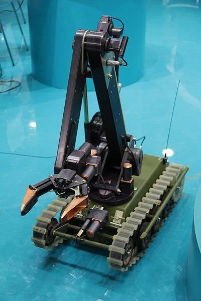 Анонсирован показ робототехники на выставке «Армия-2016»