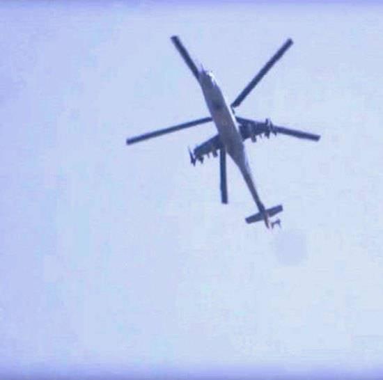Российский экипаж вертолёта Ми-25 ВВС САР погиб в районе Пальмиры