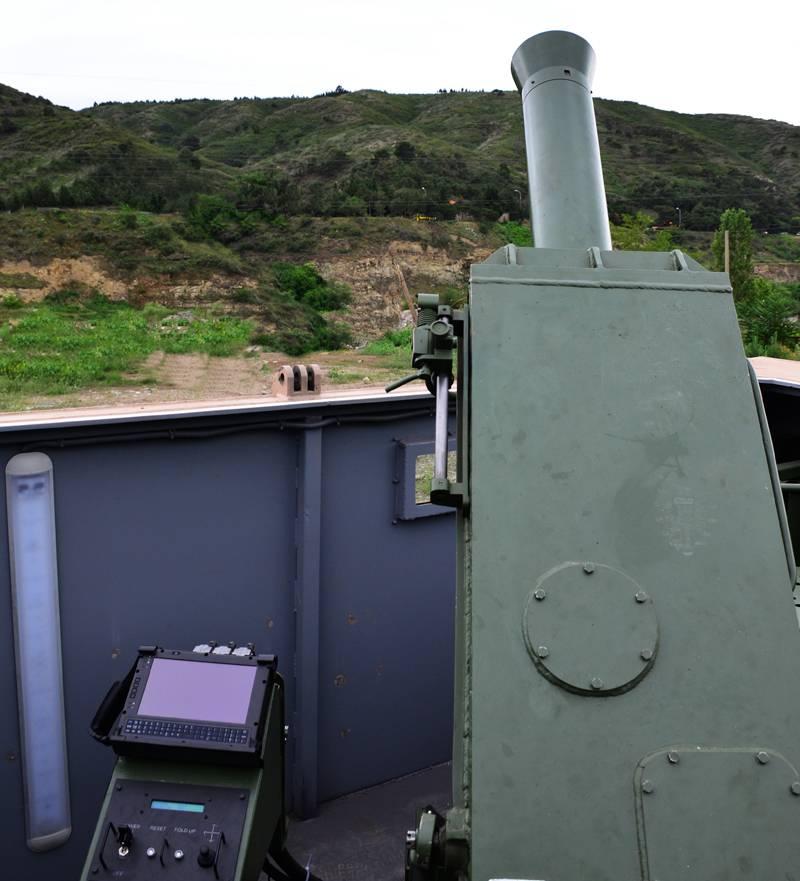 Проект самоходного миномета GMM-120 (Грузия)
