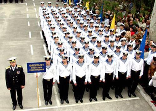 """Украинское правительство из факультета ВМС """"ОМА"""" раздувает целый институт"""