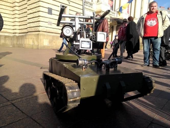 Робот-разведчик для зоны АТО. Часть 2