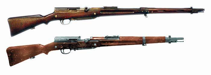Самозарядные винтовки Этьена Мёнье (Франция)