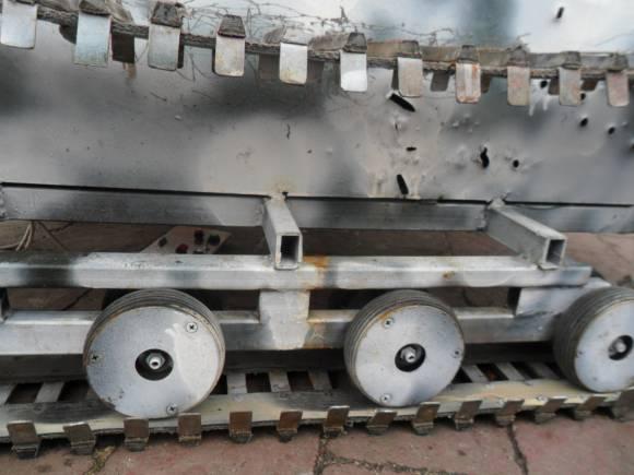 Робот-разведчик для зоны АТО. Часть 3