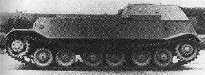 Ремонтно-эвакуационная машина Bergepanzer Tiger(P), Германия