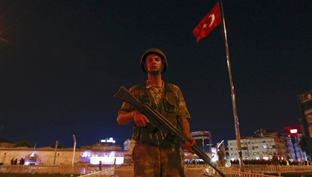 Turkey attempted military coup