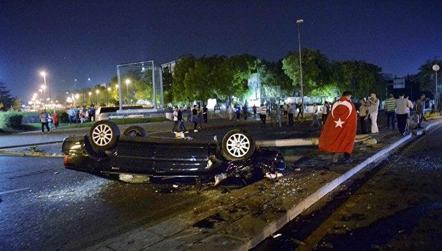 В Турции предпринята попытка военного переворота