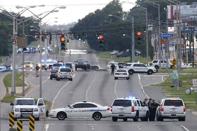 В Луизиане (США) убит афроамериканец, расстрелявший полицейских